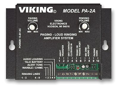 Viking PA-2A Paging / Loud Ringer Amplifier (includes 25AE horn)