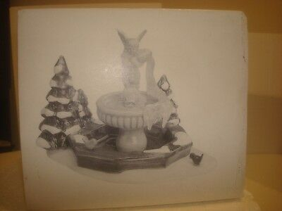 DEPT 56 Snow Village -  Winter Fountain - #56.54097