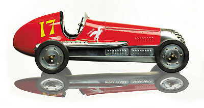 "Red BB Korn Indianapolis 1930s Tether Car Model 22"" Racing Spindizzy New"