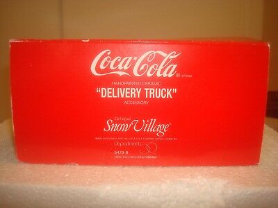 DEPT 56 Snow Village -  CocaCola Delivery Truck - 56.54798