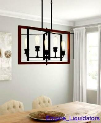 Home Decorator Collection Palermo Grove 31 5 Light Black Gilded Iron Chandelier