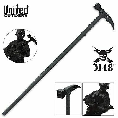 NEW M48 KOMMANDO Tactical Survival Hammer Walking Stick By United Cutlery  UC2960