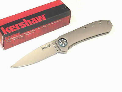 """KERSHAW 3871WM Amplitude Assisted Open framelock knife 4 1/8"""" closed 3871 NEW!"""