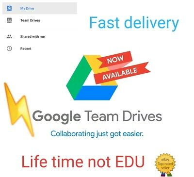 Unlimited google drive on your existing accoun for life time buy 3 win 1 free