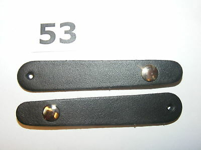Nr.53// 2 Stück für Balgzughalter 7,5 cm Balgriemen/accordion bellows straps