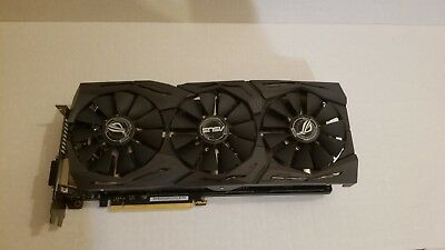 used asus nvidia rog strix geforce gtx 1080 ti 11gb gddr5x graphic card 700 00 picclick picclick