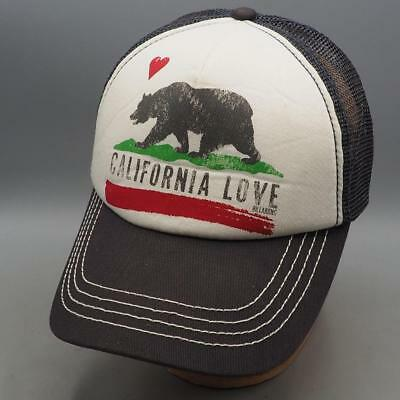 CHARCOAL BILLABONG CALIFORNIA Love Pitstop Trucker Hat OS -  9.99 ... 0b5894b1c4d