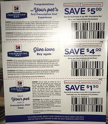Hill S Prescription Diet Cat Dog Food Coupons 21 In Savings