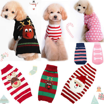 Dog Cat Christmas Pet Dog T Shirt Clothes Puppy Cat Coat Party Costume Outfit
