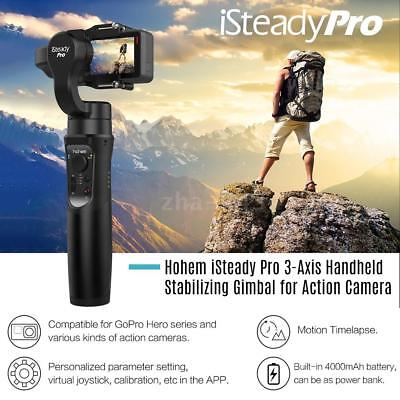 Hohem iSteady Pro 3-Axis Handheld Stabilizer Gimbal for GoPro 7 6 5 4 SJCAM Cam