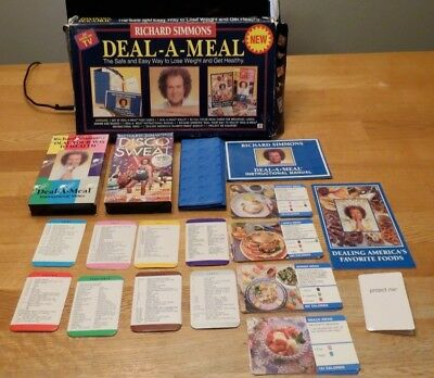 Richard Simmons Deal A Meal Weight Loss Program W Bonus Disco