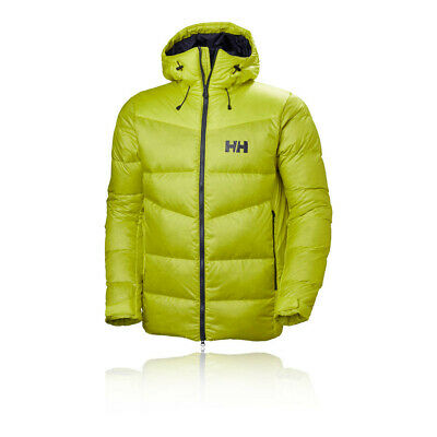9a84087e6c Helly Hansen Mens Vanir Icefall Down Jacket Top Green Sports Outdoors Full  Zip