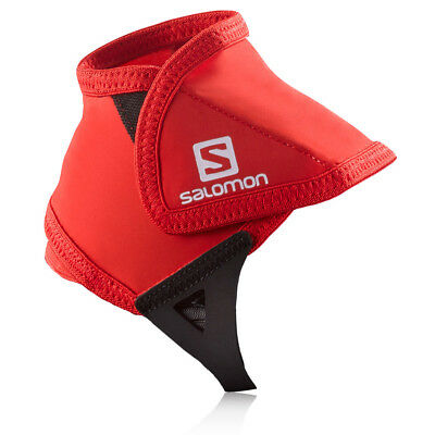 Salomon Low Unisex Red Black Ankle Protection Trail Shoe Gaiter Trainers