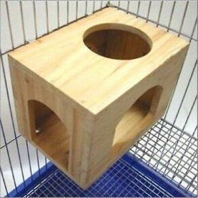 The cabin Wooden House for chinchilla