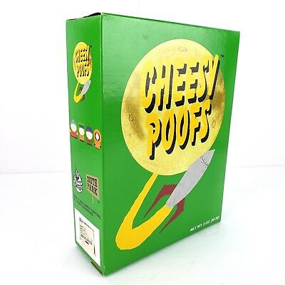 Vintage 1998 Comedy Central SOUTH PARK Cheesy Poofs Kenny 8215 Sealed Box Rare