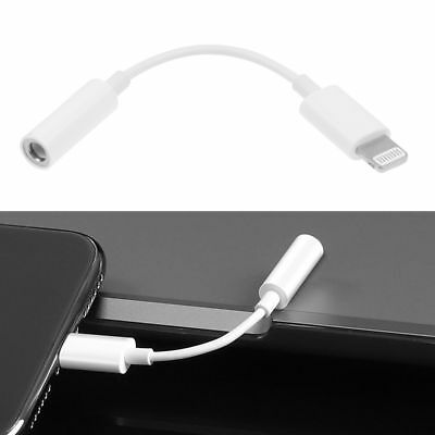 For Apple iPhone XR XS Max X 7 8 3.5mm Jack Earphone Headphone Aux Adapter Cable