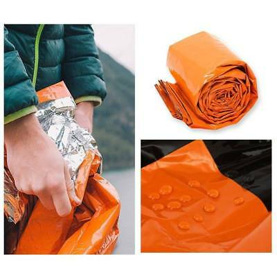 Waterproof Reusable Emergency Sleeping Bag Thermal Survival Camping Bag