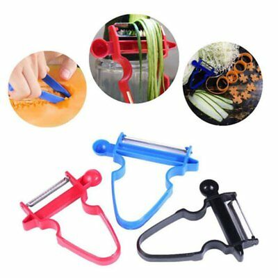 New 3Pcs Fruit Vegetable Peeler Slicer Grater Cutter Multi-function Kitchen Tool