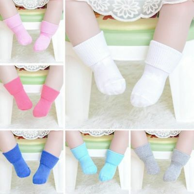 Cute Cotton Kids Socks Anti Slip Girls Socks Baby Girls Boys Soft Socks