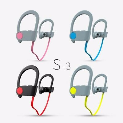 Wireless Earphones, Waterproof and Sweat-resistant Sports Headphones, Bluetooth