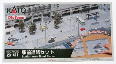Kato 23-411 N Diotown Station Area Road Plate Set