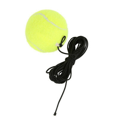 FM- Elastic Rubber Band Tennis Ball Single Practice Training Belt Line Cord Tool