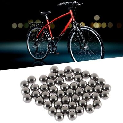 50x Durable Bicycle Stainless Steel Ball Bearing Bikes Replacement Parts 6mm  RH