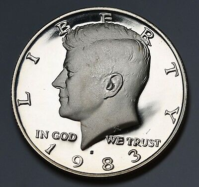 1983 S US Kennedy Half Dollar Proof Coin