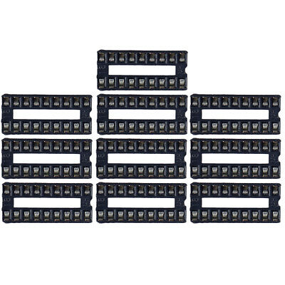 10X 18 Pin Dip-18 Ic Socket For Integrated Circuit Chip Operational Amplifier RH