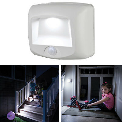 Wireless Motion Sensor LED Light Security Stair Step Outdoor Indoor Walkway Path