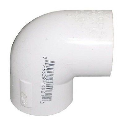 """Spears SCH40 PVC 90 Degree Elbows, 1"""", 1.5"""", 2"""" - Lot of 18 - NEW"""