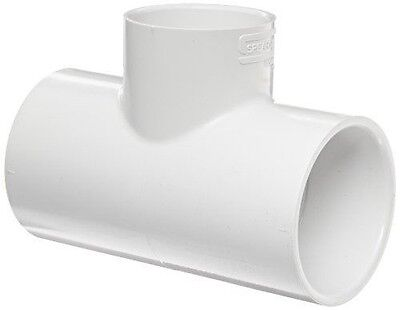 """Spears 401-015, 401-020 PVC SCH-40 pvc Tees, 2"""" & 1.5"""" - Lot of 12 - NEW"""