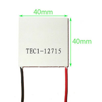 TEC1-12715 Heatsink Thermoelectric Cooler Cooling Peltier Plate Module 40mm 12V