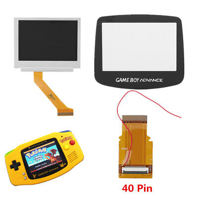 40 Pin Gameboy Advance LCD Backlight Kit Repair GBA SP AGS 101 Backlit Screen CO