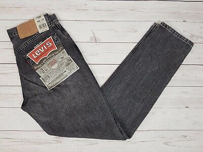 Levi Strauss & Co Vintage Mens Grey 535 Slim Fit Button Fly Jeans W31 L32