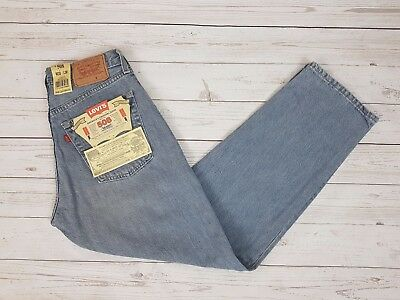Levi Strauss & Co Vintage Mens Blue 508 Loose Fit Button Fly Jeans W30 L30