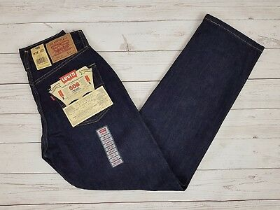 Levi Strauss & Co Vintage Mens Blue 508 Cotton Loose Fit Jeans W28 L32 Brand New