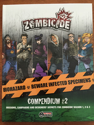Zombicide Compendium 2, New by Guillotine Games, English
