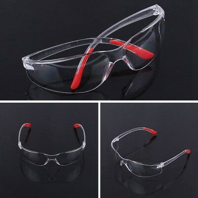 Vegas Wraparound Clear Lens Safety Glasses - Impact & Scratch Resistant Glasses