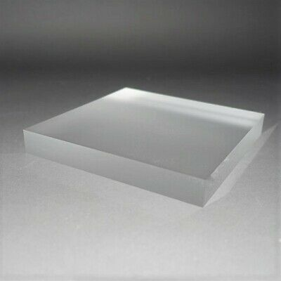 Clear or Frosted Acrylic Display Blocks, Jewellery, Watches, Art, Collectibles