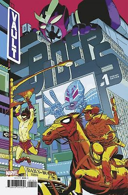 Marvel Vault Of Spiders #1 Variant First Print