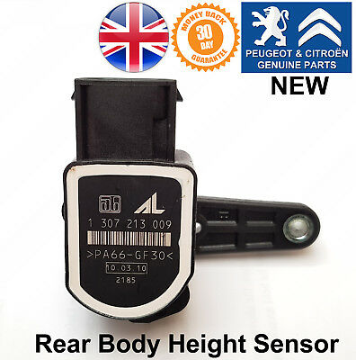 Peugeot 307 308 RCZ Citroen C4 DS4 Rear Body Height Suspension Sensor 1307213009