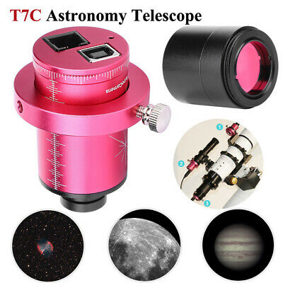 T7C Astronomy Telescope Electronic Eyepiece ST4 Guide Star CMOS Equatorial Kit