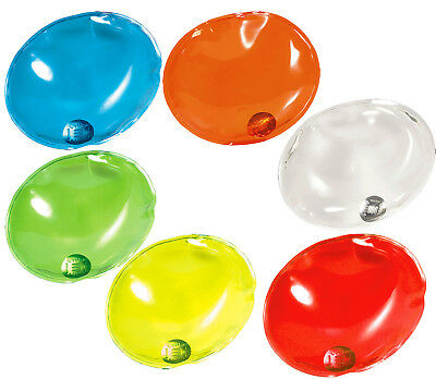 2 Oval Reusable Heat Pads/Hand Warmers.Skiing/Cold Weather Transparent/Colours
