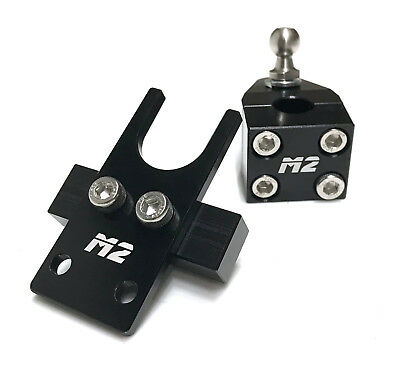 Short Throw Black Quick Shift Gear Shifter Ford Focus Mk2 St Rs St225
