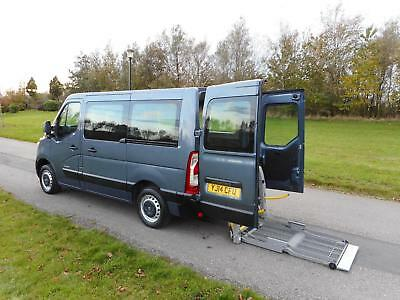 2014 Renault Master 2.3 Dci WHEELCHAIR ACCESSIBLE ADAPTED DISABLED VEHICLE WAV