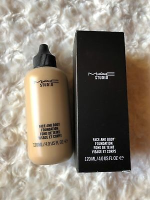 mac face and body foundation makeup make up 120ml 4 0 oz buy
