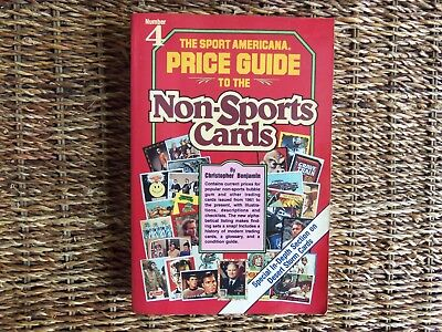 Sport Americana: Price Guide to the Non-Sports Cards No. 4 by C Benjamin