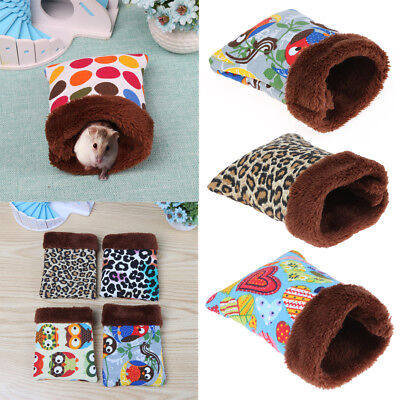 Warm Small Pet Nest Hedgehog Squirrel Hamster Bed Guinea Pig Sleeping Bag Cage