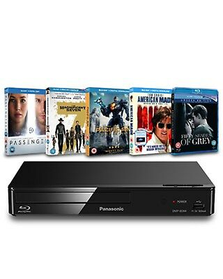 Panasonic: Blu-ray Player + 5 Blu-ray Bundle (Zoom Exclusive Hardware Bundle)
